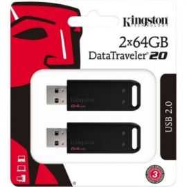 Kingston DataTraveler 2-pack 64GB USB