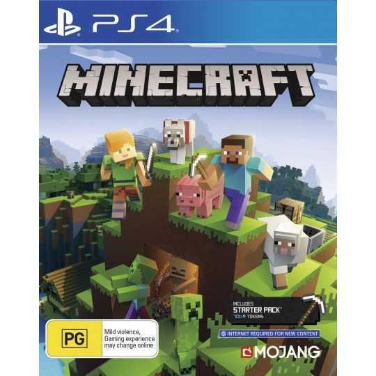 PS4 Minecraft: Bedrock Edition