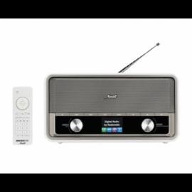 Radionette Menuett radio hvid