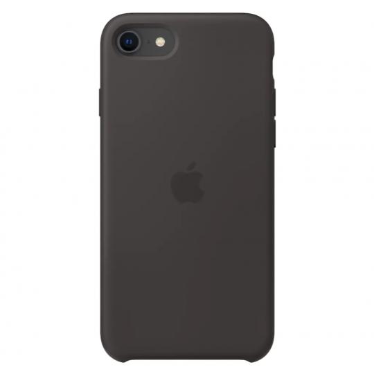 iPhone SE 2 silikonecover Sort