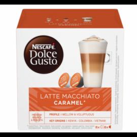 Nescafe Caramel LatteMacch DolceG Kapsler