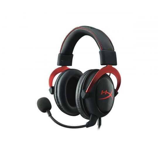 HyperX Cloud II headset rød/sort