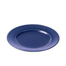 Groovy Frokosttallerken Ø21 cm blå