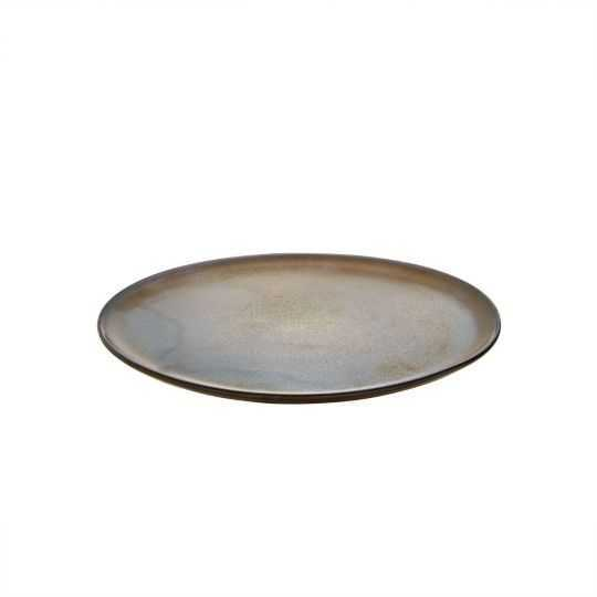 RAW Frokosttallerken Ø23cm brun metallic