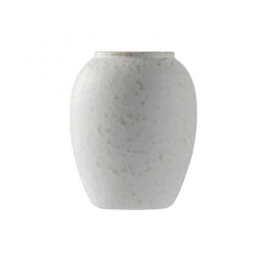 BITZ Vase H12,5 cm mat creme
