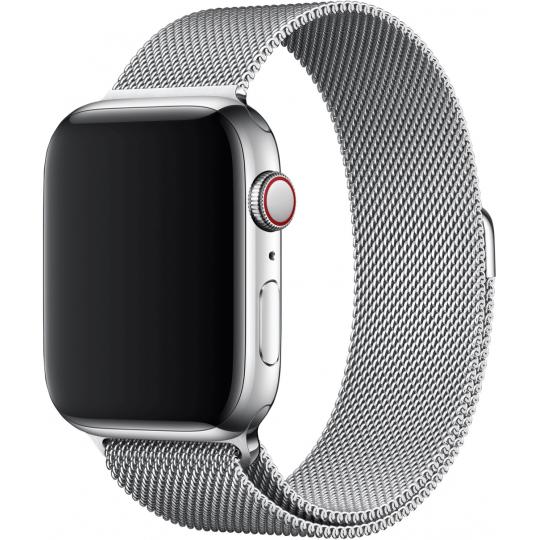 Apple 44mm Milanese Loop Urrem Sølv