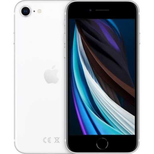 iPhone SE 128GB Hvid