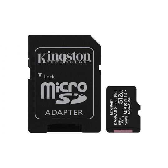 Kingston 512GB micSDHC C Select