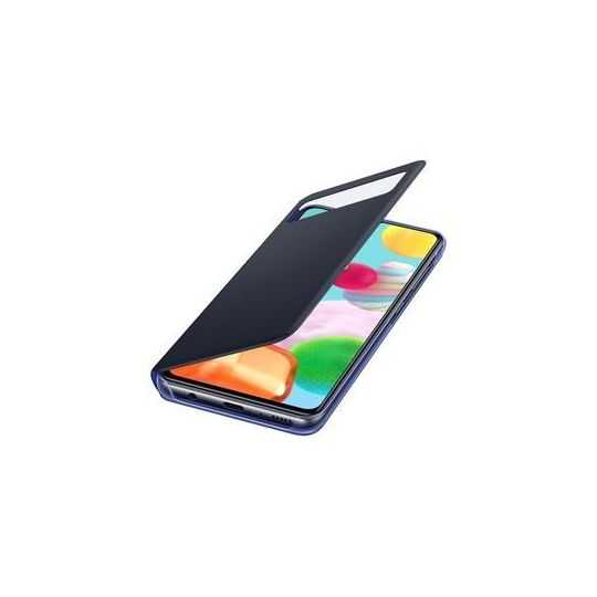 Samsung A41 S View Wallet Cover Black