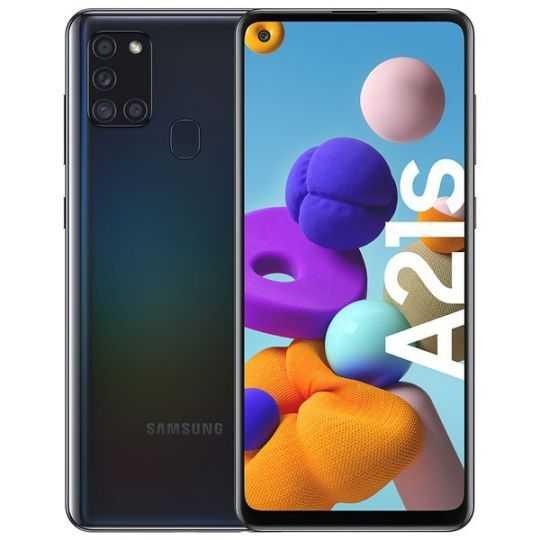 Samsung Galaxy A21s Sort