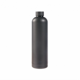 Raw Termoflaske metallic dark grey1 L