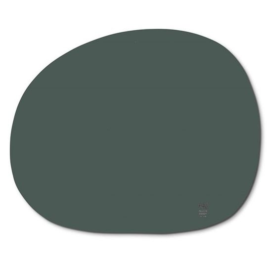 RAW Dækkerserviet organic mørk grøn