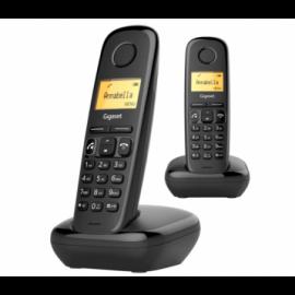 Gigaset telefon 2-pak Sort