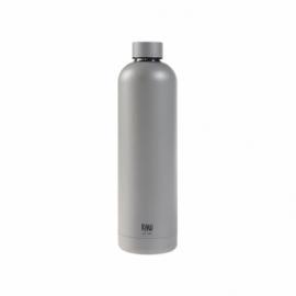 Raw Termoflaske metallic silver1 L