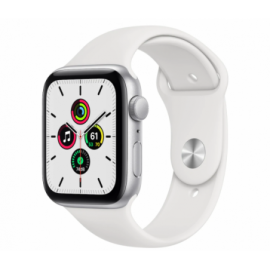 Apple Watch SE GPS, 44mm Silver Alu