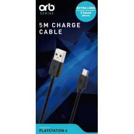 PS4 Controller Charge Cable 5m