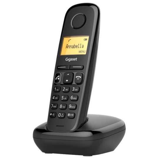 Gigaset telefon sort single